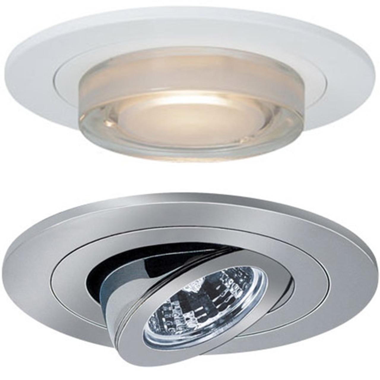 Museum quality recessed lighting : Recessed housings trims