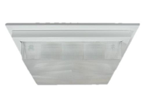 100 Series Square Shallow Lens Commercial Ceiling Wall Light By Enertron