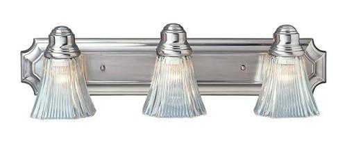 3 Light Brushed Nickel Bath Sconce 2503BN
