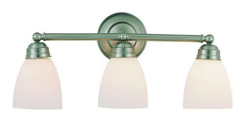 3 Light Brushed Nickel Bath Sconce 3357BN