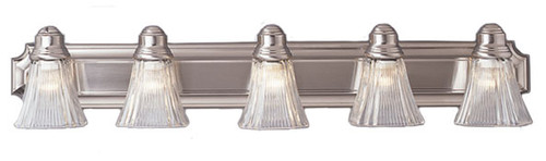 5 Light Rubbed Oil Bronze Bath Sconce 2505MBZ