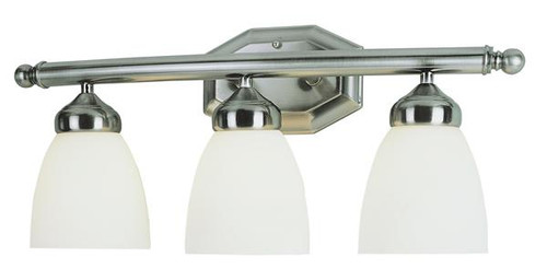 3 Light Antique Nickel Bath Sconce 2513AN