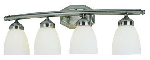 4 Light Antique Nickel Bath Sconce 2514AN