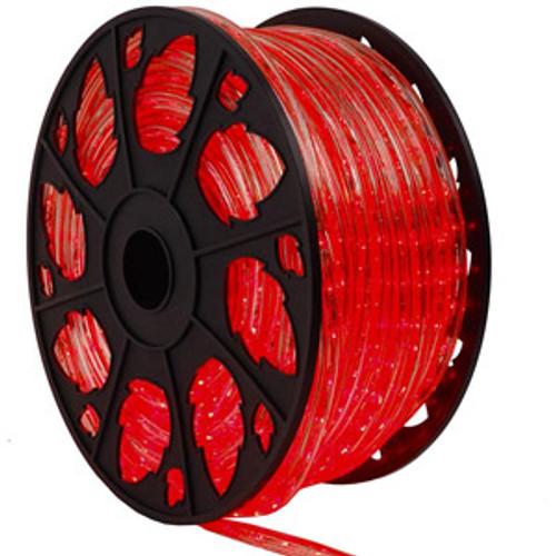 Red LED Rope Light Spool