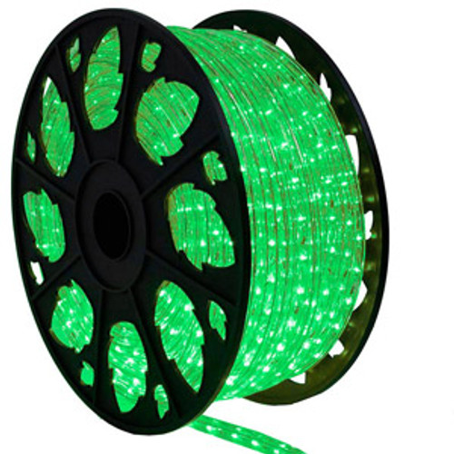 True Green LED Rope Light Spool