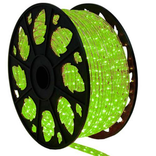 Faux Green LED Rope Light Spool