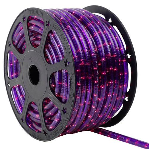 120V 2 Wire Incandescent Green Rope Light - 150 Ft