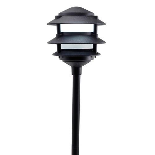 LED 3 Tier Pagoda Light LED-PAT3R Black