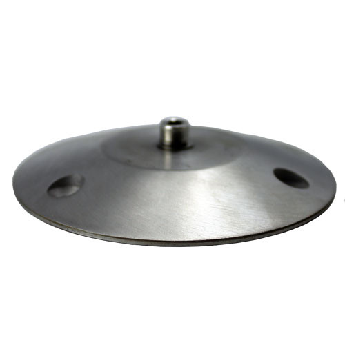 """3.5"""" Stainless Steel Surface Mount Base"""