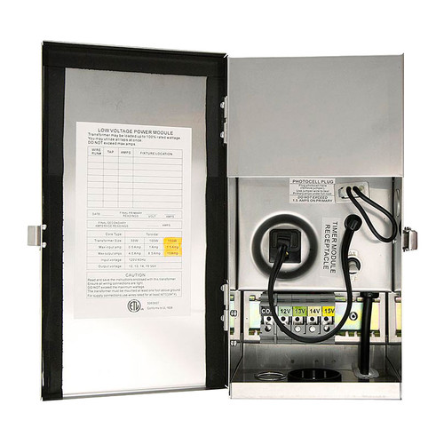 150w Multi-Tap Low Voltage Transformer PTXKM150-15