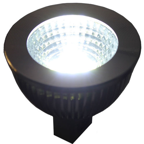 Mr16 Wide Flood: 12V 6W CoB Cool White LED MR16 Wide Flood Light Bulb