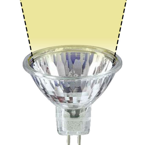 12V 35w Clear Halogen MR16 FMW AQL Wide Spot Light Bulb
