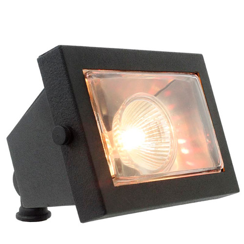 Deluxe Rectangular Brass Directional Flood Light PSDX110