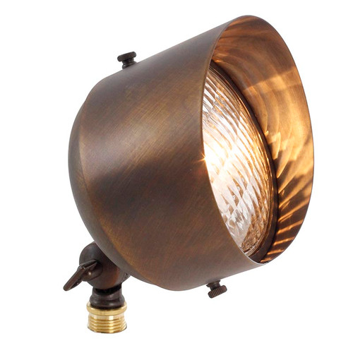 Large Landscape Brass Spotlight PS112 (shown in bronze)