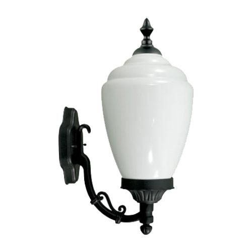 120V Fluorescent Alisa Wall Mount Light GM291 Black