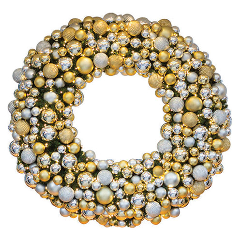 6' Elite Holiday Designer Wreath