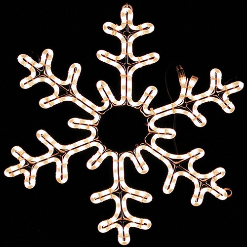 LED 6 Closed Point Snowflake Ropelight Motif
