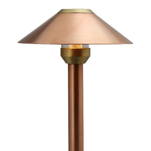LED Raw Copper Flat Top Cone Area Light LED-PASH-AQ114-RC