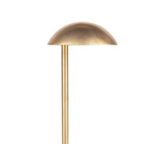 PL-11 Mushroom Pathway Raw Brass