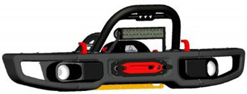 Stinger Starred Hoop (shown with optional LED light bar + brackets)