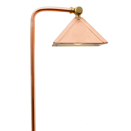 Raw Copper Pyramid Pathway Area Light PPG028C