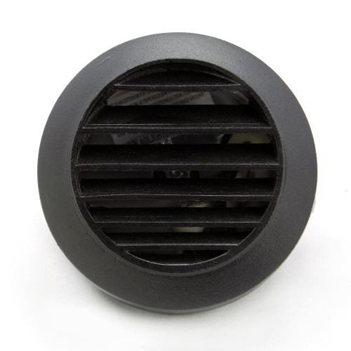 Cast Brass Louver Step Light (shown in black)