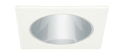 """White 120V 4"""" PAR20 Square Reflector Trim C473"""