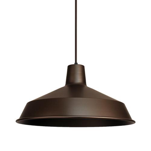 Warehouse Pendant Light Fixtures: 120V Cast Metal Vintage Barn Light Hanging Pendant (AQ