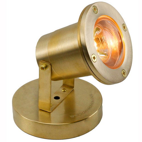 Brass Underwater Open Face Spotlight PUDX77