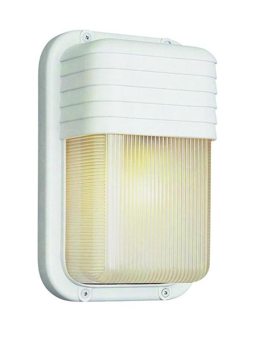 1 Light Outdoor Bulkhead 41105WH White