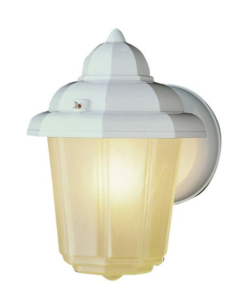 1 Light Outdoor Wall Mount 4160WH White