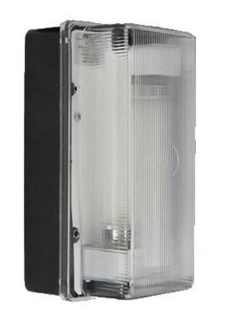 7000 Series Fluorescent LEXAN Front Wall Pack Black