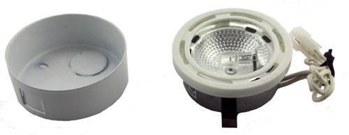LED Puck Light LEDSP1 White Opened