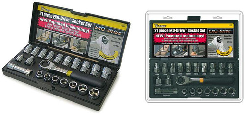 21 piece EXO-Drive™ Socket Set