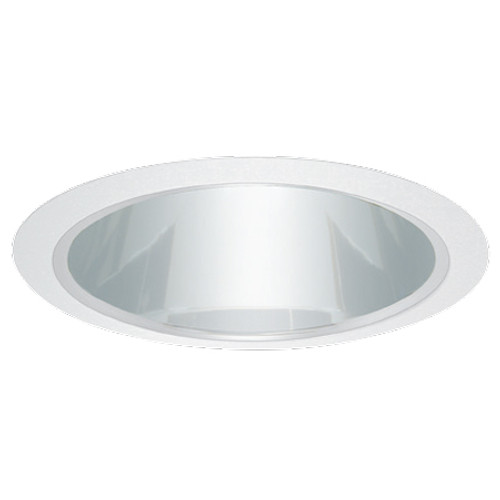 Shown with Chrome Reflector / White Trim Ring