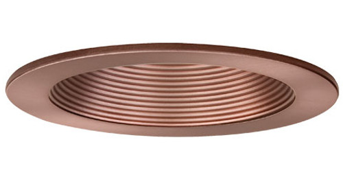 """4"""" 120v Step Baffle Recessed Lighting Trim C993-Bronze"""