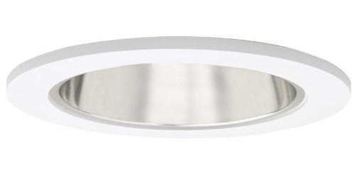 "120v 4"" Reflector w/ Clear Glass Recessed Lighting Shower Trim"