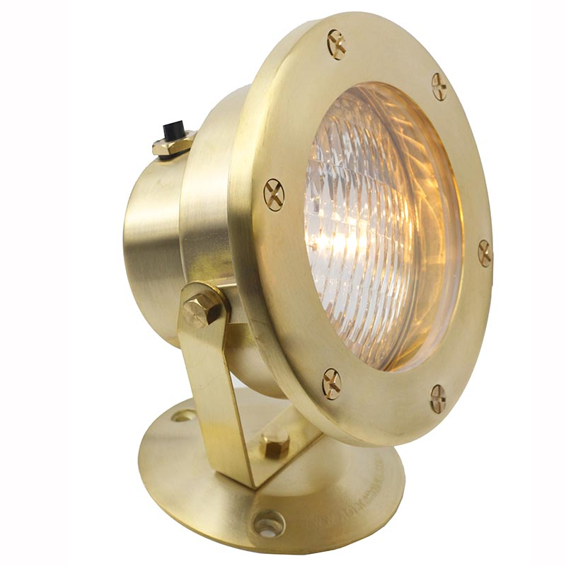 12V Cast Brass Underwater Flood Light LEDUX003 Construction