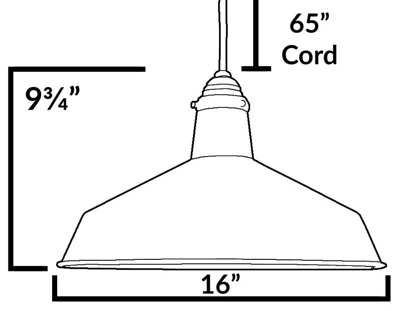 120v cast metal vintage barn light hanging pendant  aq