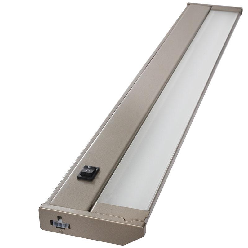"""24 Led Under Cabinet Strip Light: 120V 24"""" Dimmable LED Under Cabinet Light Bar"""