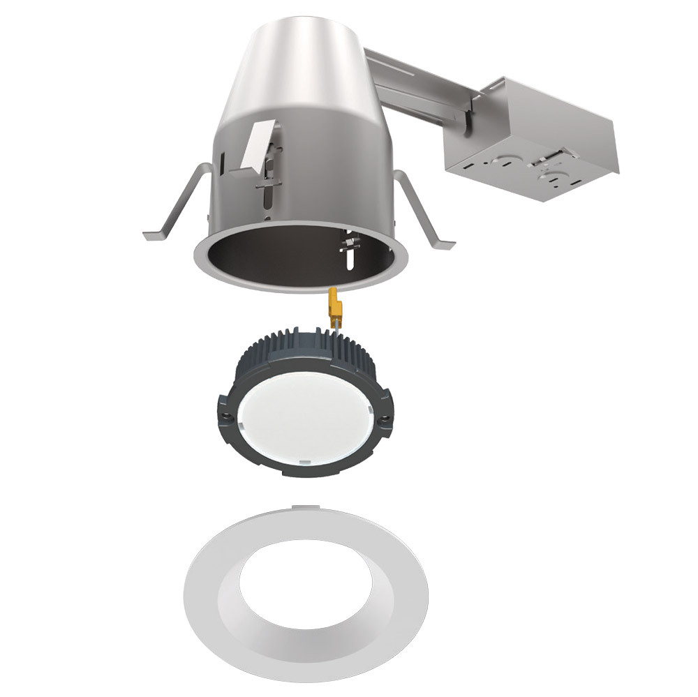 """120V 6"""" LED IC Rated Airtight Title 24 Remodel Recessed"""