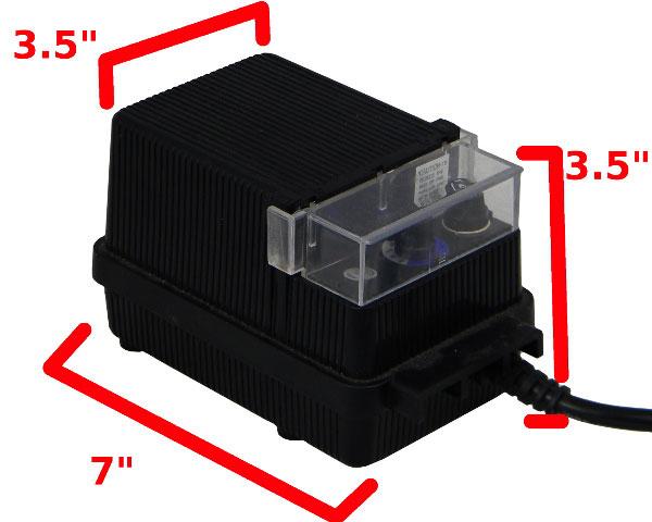Low voltage transformer hook up