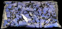 CWN-BLUE wingnut Bag of 100