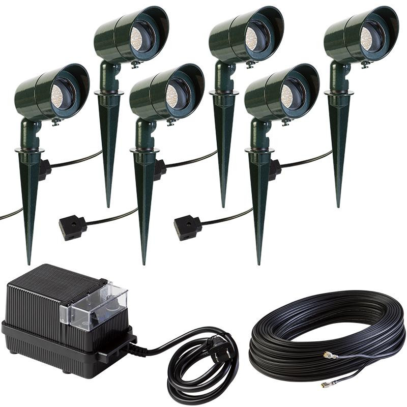 image gallery led landscape lighting kits