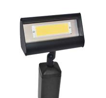 LFL-01 LED Flood Light in black with warm white LED panel