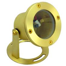 12V Brass Underwater Light - NLUW-007-BR