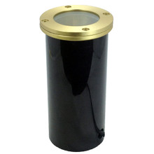 Raw Brass In Ground Well Light NLWE-007/5-BR