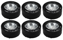 Xenon 3 Puck Light Kit in black