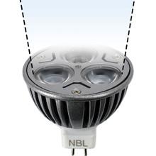 12V 3W Cool White LED MR16 Spot Light Bulb