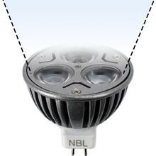 12V 3W Cool White LED MR16 Flood Light Bulb